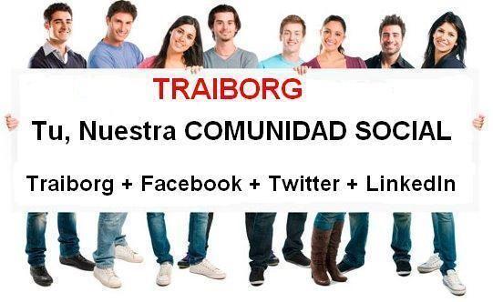Traiborg le permite interactuar con las otras redes: crear su sitio, blog y compartir con amigos también con el teléfono, chat, foros, eventos, fotos, videos, trabajos, juegos y entretenimiento, y los grupos clasificados, crear su tienda online y un largo etcétera.  Suscríbete gratis:    http://www.traiborg.com/af/7523