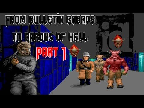 ID Software: From Bulletin boards to Barons of hell. PC & 16 to 64bit consoles Part 1 of 2 - YouTube