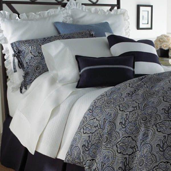 Legacy Home Paddock Shawl Indigo Bedding By Legacy Home Bedding,  Comforters, Comforter Sets,