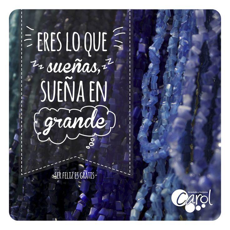 #DIY #HazloTuMismo Eres lo que sueñas! Sueña en grande! Feliz mañana para tod@s!