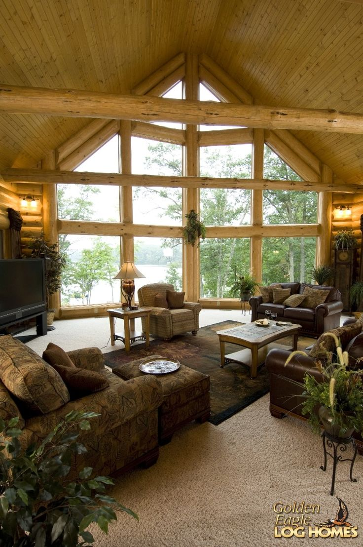 Golden Eagle Log Homes: Log Home / Cabin Pictures, Photos, Pics .