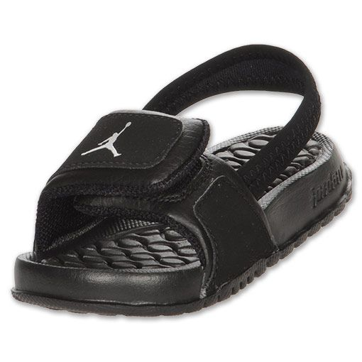 Boys\u0027 Toddler Jordan Hydro 2 | FinishLine.com | Black/Silver � Toddler Nike  ...