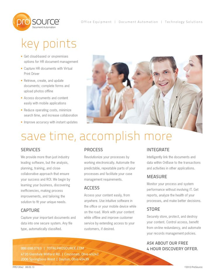 Human Resources #Document #Management Overview - Key Points for #HR http://bit.ly/docautoHR