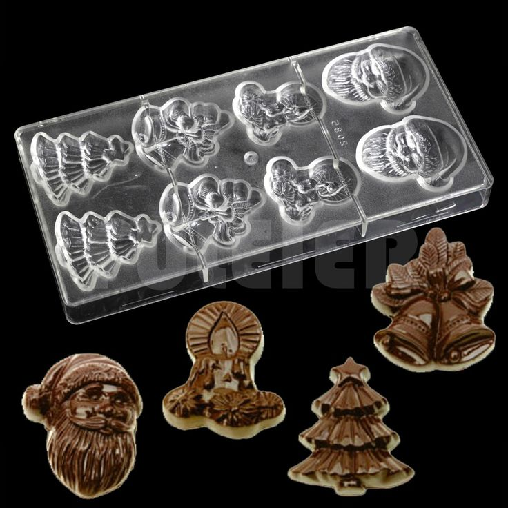 Christmas Series Santa Claus Bell Shape Polycarbonate Chocolate Mold,cheap Kitchen Bakeware Baking Cake Candy Chocolate Mould -in Baking & Pastry Tools from Home & Garden on Aliexpress.com | Alibaba Group