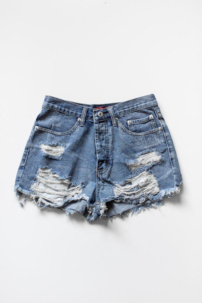 Hip Size(cm) :S:90cm,M:94cm,L:100cm,XL:104cm Waist(cm) :S:70cm,M:73cm,L:78cm,XL:82cm Size Available :S,M,L,XL Waist Type :Mid Waist Season :Summer Type :Shorts Pattern Type :Ripped Color :Black Materi