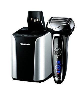 Panasonic ES-LV95-S Arc5 Electric Razor, Men's 5-Blade Cordless with Shave Sensor Technology and Wet/Dry Convenience, Premium Automatic Clean & Charge Station Included | Find Electric Shaver