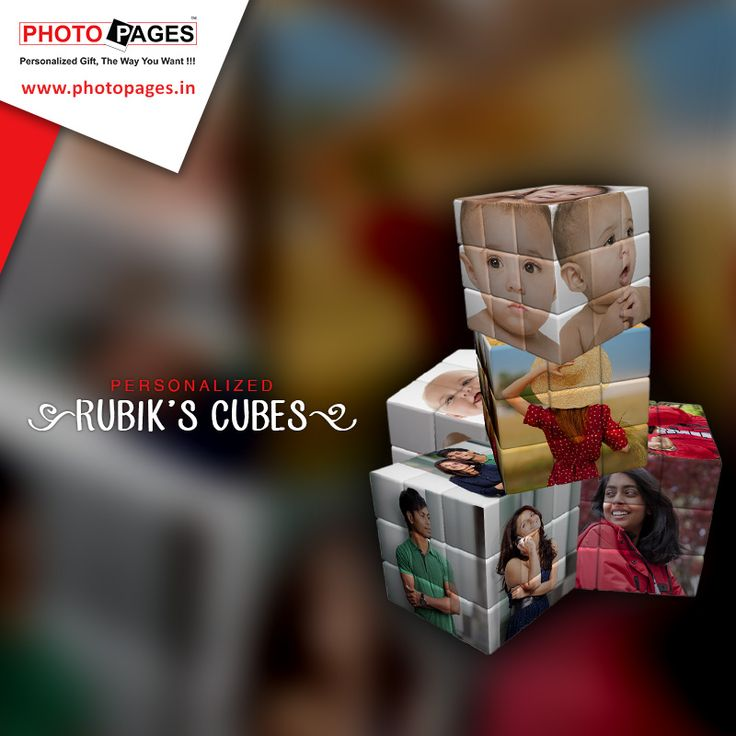 Gift a Rubik's cube, personalized with your loved ones favorite pics printed on it. #Ahmedabad #PhotoPages #India #Personalized #gifts #rubikscube Personalized Rubik's Cube: http://ow.ly/YADZK
