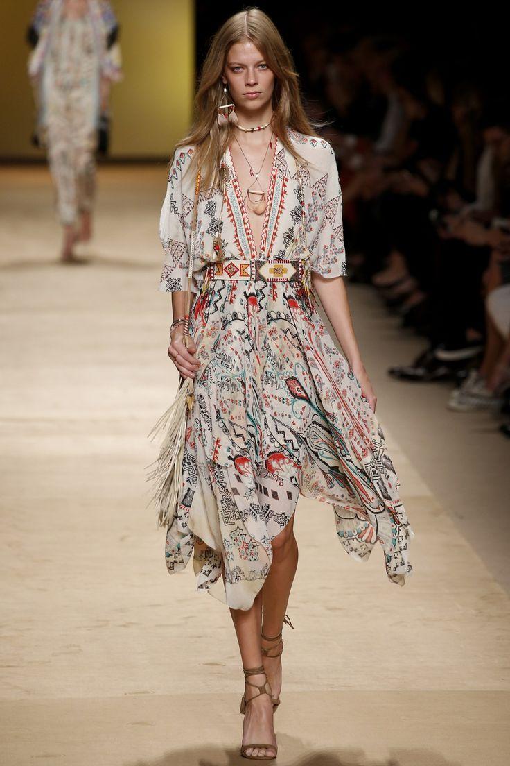 Etro womenswear, spring/summer 2015, Milan Fashion Week