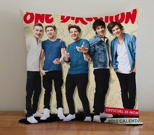 BDP 125 One Direction Oficial Calender - Pillow Case 16x16, 2 side | PodoMoro - Home & Garden on ArtFire