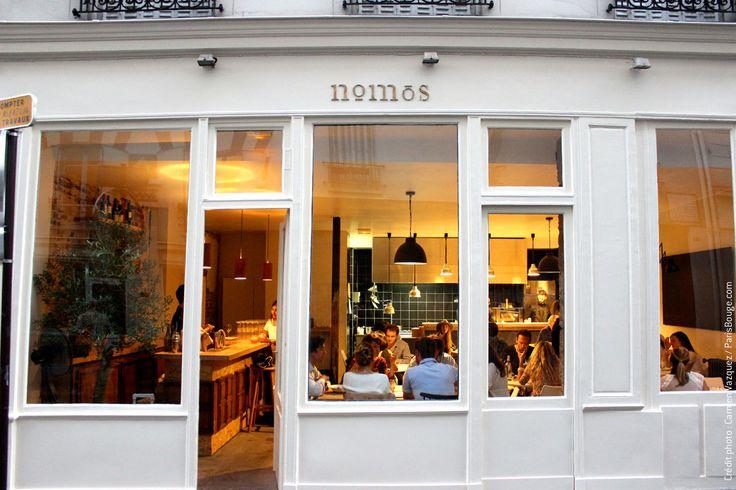 Restaurant Nomos : Guillaume Sanchez et sa cuisine osée s'installent à Montmartre
