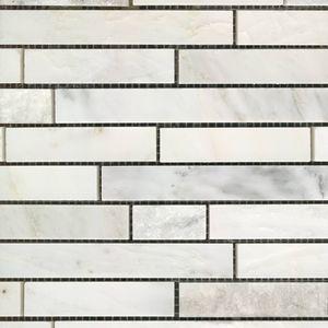 Product ID:MARTASSOCA 12X12 Tasso Carrara Mosaic #Profiletile