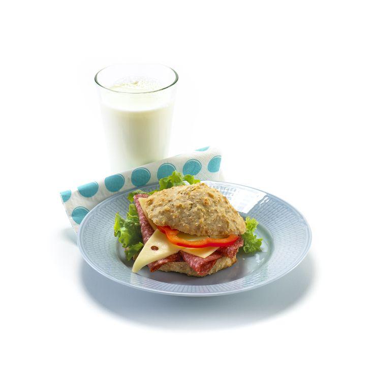 de Anette lagde Scones: Lettlaget og knallgode til frokost, eller lunsj. Deigen kan også stå i kjøleskapet noen dager, og stekes etterhvert.