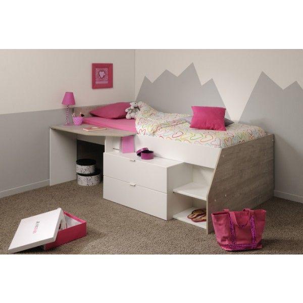 Parisot Milky Midsleeper Cabin Bed | Kids Avenue | Henri
