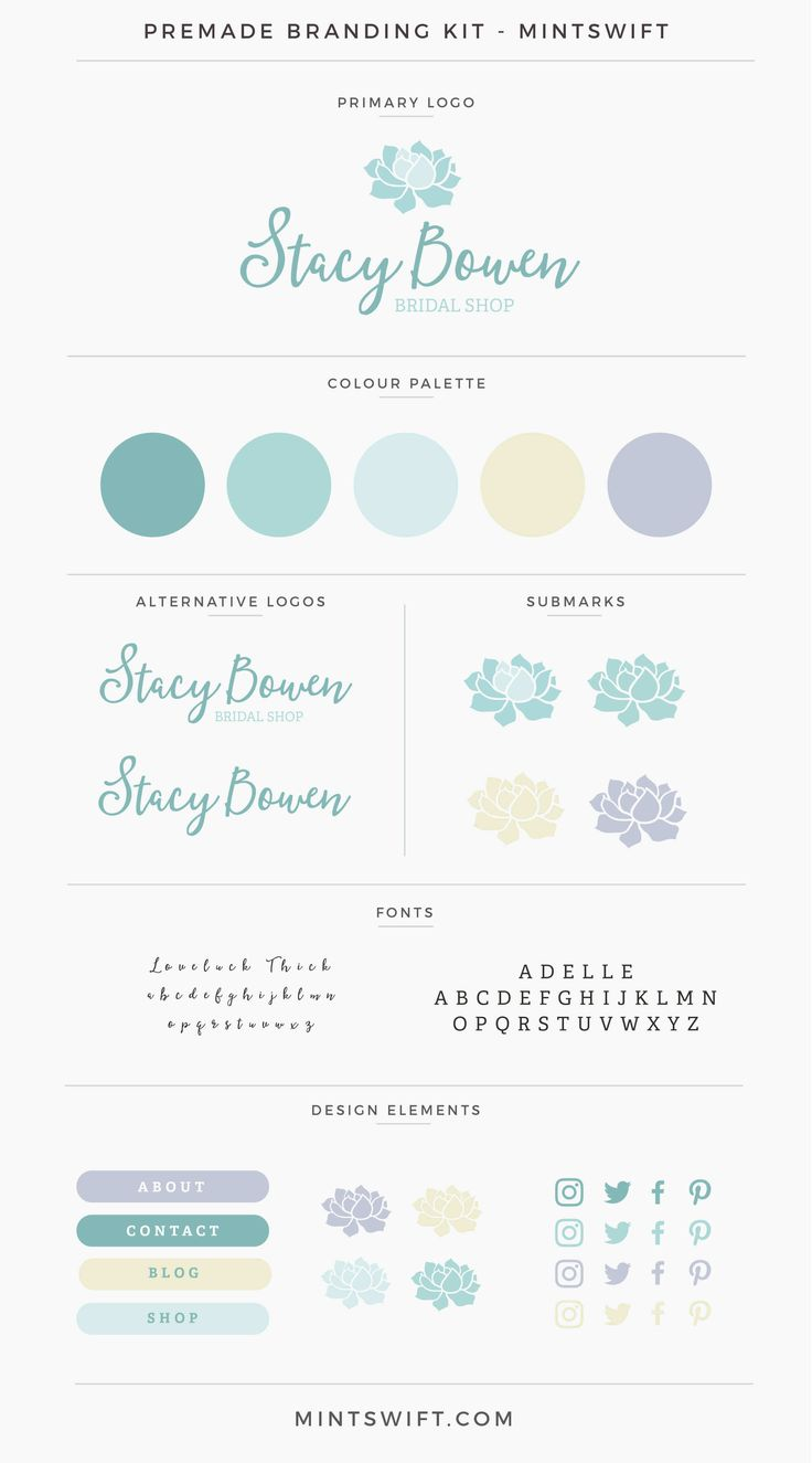 Stacy Bowen Premade Branding Kit