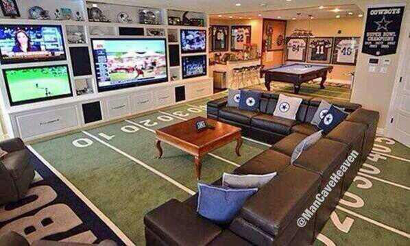 hate myself for repining anything cowboys  :) but what a great idea for a man cave