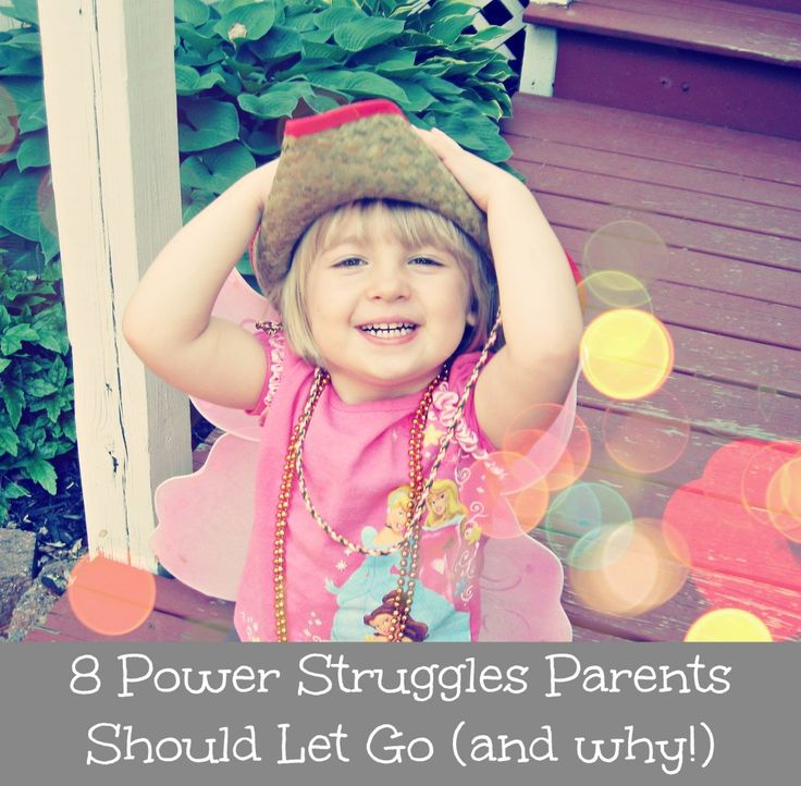 8 Power Struggles Parents Should Let Go (and why) by Awesomely Awake