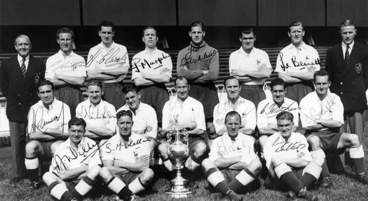 Football League Champions for the first time in 1951
