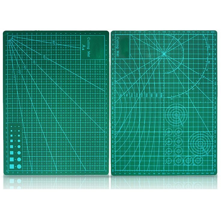 A4 HOBBY CRAFT CUTTING MAT 30CM x 22CM x 1CM SQUARE GRID LINES FOR FAST CUTTING