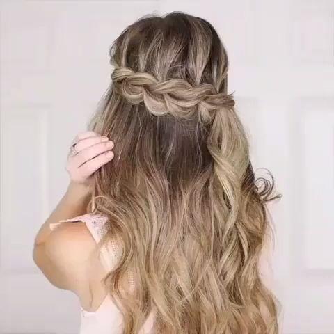 Quick And Easy Hair Tutorials 😍 - #quick #tutorials - #HairstyleCuteCurls