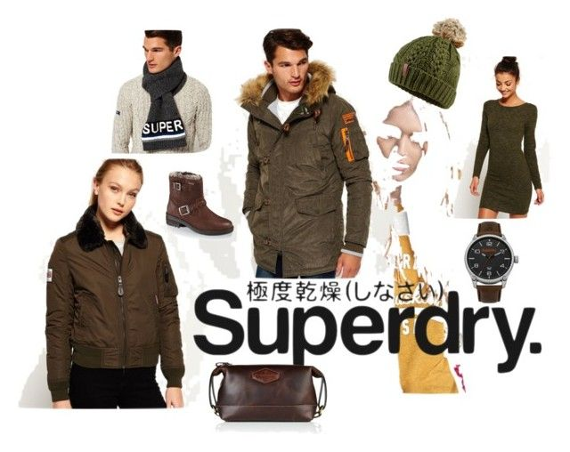 """Superdry Fashion for Women and Men, this Winter stay Dry!"" by jewlsinbloom ❤ liked on Polyvore featuring Superdry"