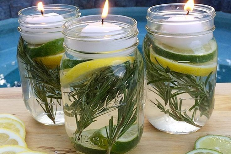 Get Rid Of Mosquitoes With This Non-Toxic DIY Mason Jar