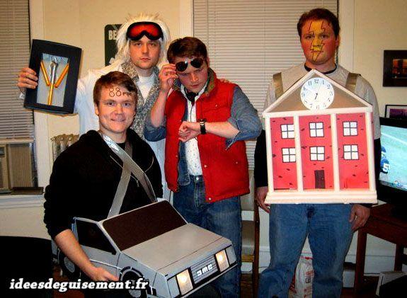 back to the future delorean costume - Google Search