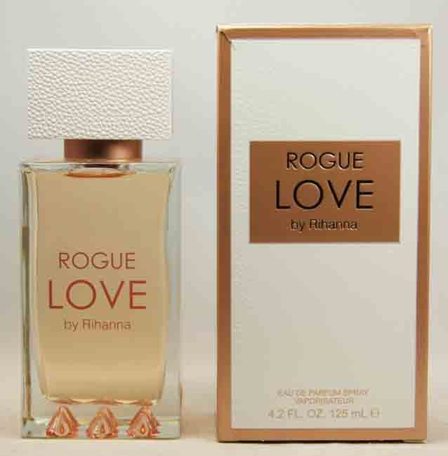 RIHANNA ROGUE LOVE 125 ML EDP WOMENS PERFUME WAS $69.95 NOW $66.76 !!