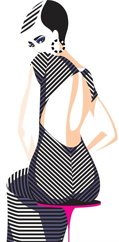Yordanka Poleganova's Fashion Illustration Portfolio