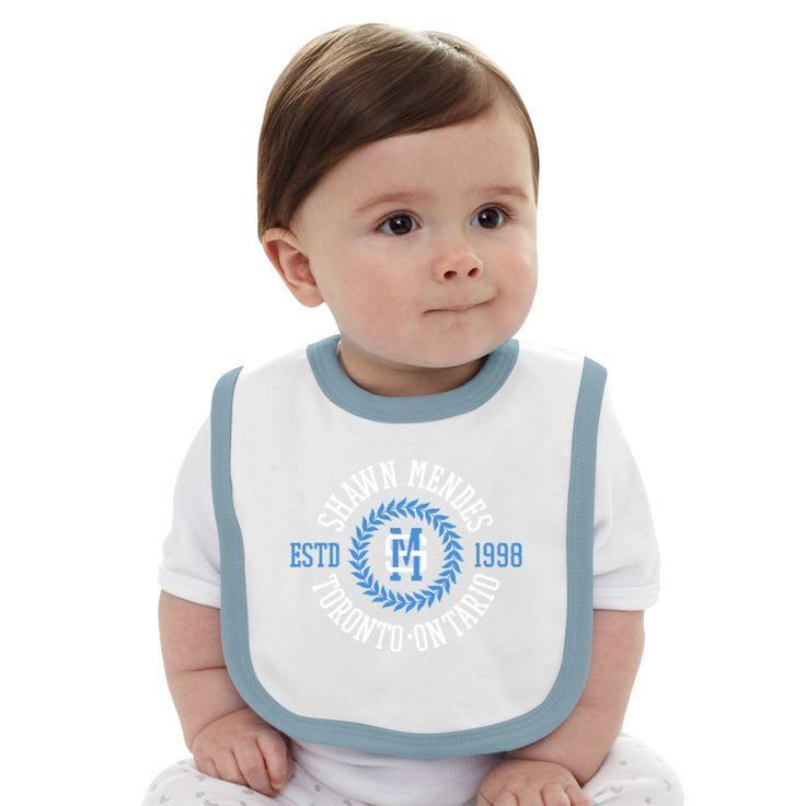 Shawn Mendes Baby Bib