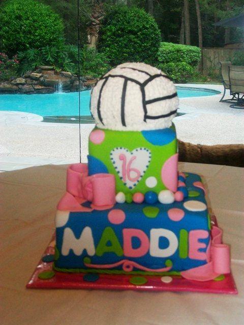 Childrens+Birthday+Cakes++Volleyball+Cake