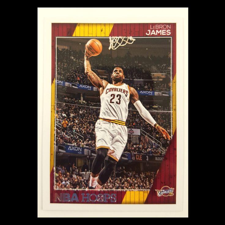 Lebron James Basketball Card 2016-17 NBA Hoops