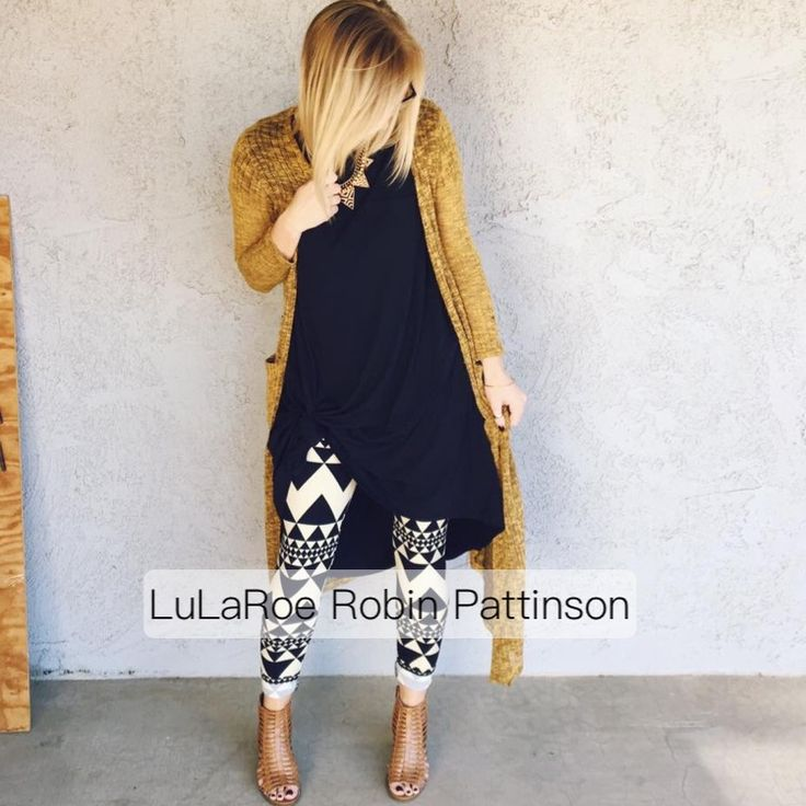 This is a go to outfit for me. I am wearing my Lularoe Carly with a Lularoe sarah cardigan and some fun Lularoe leggings! @lularoerobinpattinson https://www.facebook.com/groups/LularoeRobinPattinson/