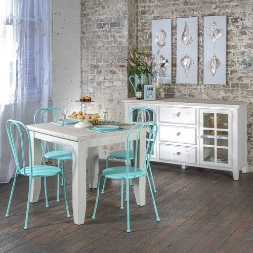 Florence 900 Dining Package with Bistro Chairs (Table - 900W x 900D x 775H mm.  Chairs - 440W x 560D x 1280H mm.) RRP $680