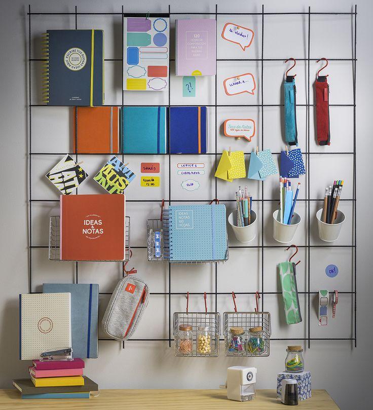 Lindas libretas, estuches y accesorios de escritorio para tu trabajo o estudio. Otoño - Invierno 2016.