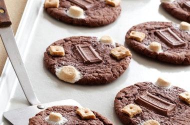 cake s mores cookies punchfork more chocolate smore chocolate cake ...