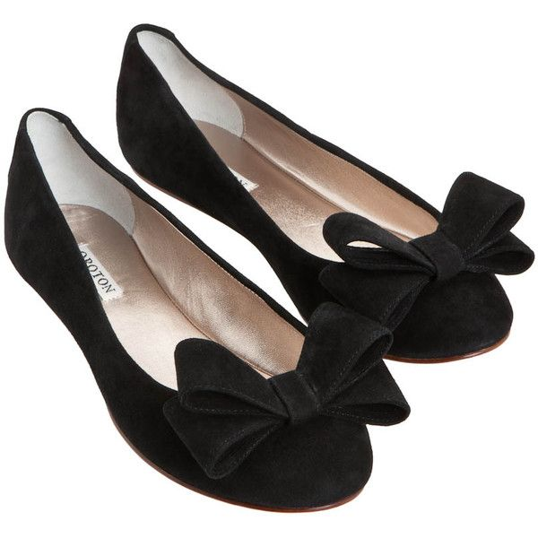 Essentials Bow Ballet Flats | Oroton Luxury Accessories ... oroton...for sweet16