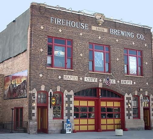 Firehouse Brewing Co., Rapid City, SD (converted firehouse) | Shared by LION