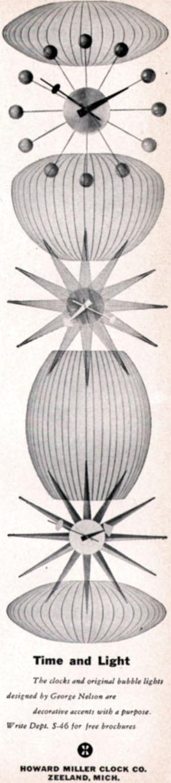 Howard Miller Ad, 1956