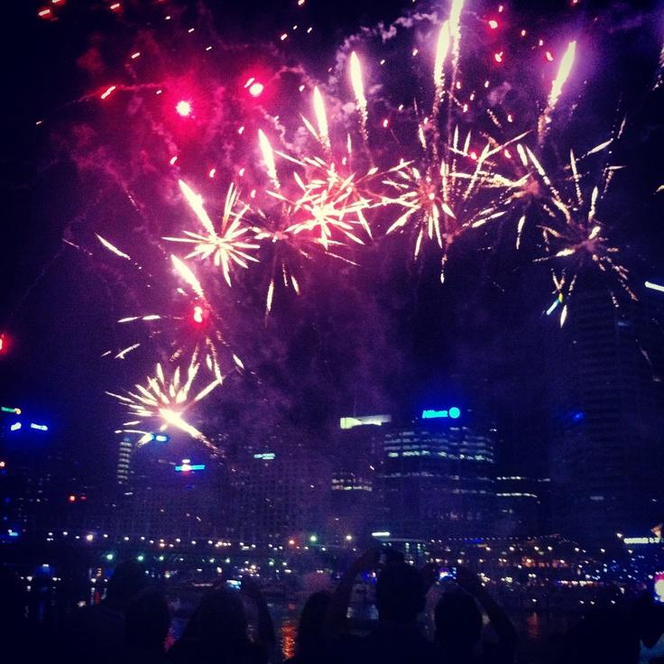 Fireworks darling harbour Sydney