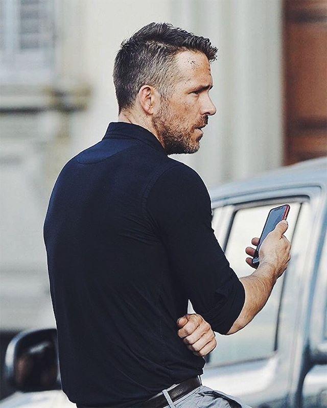 Mensstyle Ryan Reynolds Style Haircuts For Men Ryan Reynolds