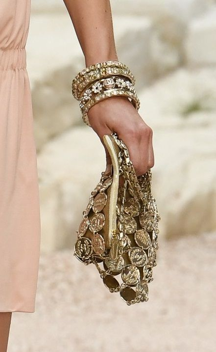 "Chanel Cruise 2018 at the Grand Palais in Paris, ""The Modernity of Antiquity"" inspired by Greece."