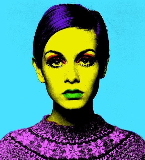 Pop Art Twiggy
