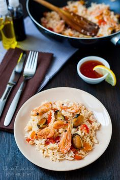 Creative workshop: Жареный рис по-тайски с морепродуктами