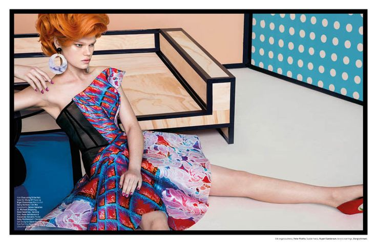 Kelly Mittendorf Stars in 'Pop Art' by An Le for L'Officiel Singapore