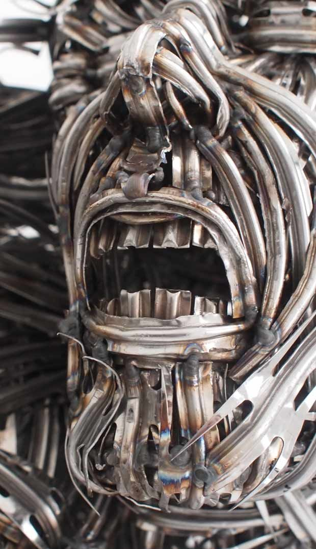 Made out of forks...so cool