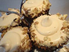 Himmelske kager: Ummh, Valnødde-kaffe-cupcakes
