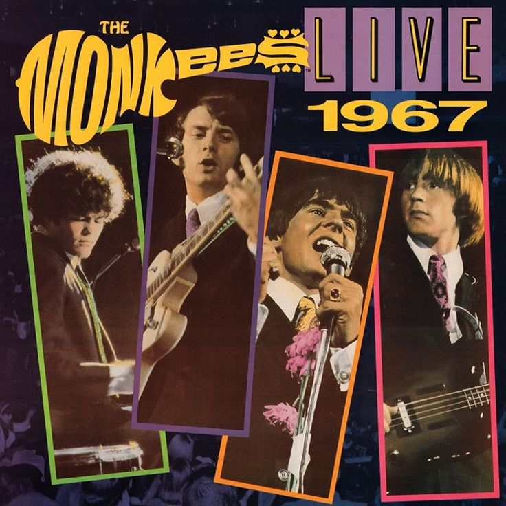 The Monkees Live 1967 on Limited Edition Colored 180g LP Mastered by Joe Reagoso with 4 Bonus Tracks Previously Only Released on the Rare 1986 CD Version! The Monkees amassed a dozen Top 40 hits throu