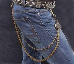 Resultado de imagen para cadenas en chaquetas de jean