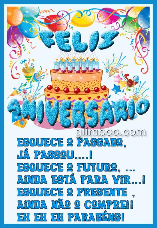 Imagens, mensagens, recados e animações de Feliz Aniversário para dar os  #felicidades #feliz_aniversario #parabensparabéns aos seus amigos e familiares