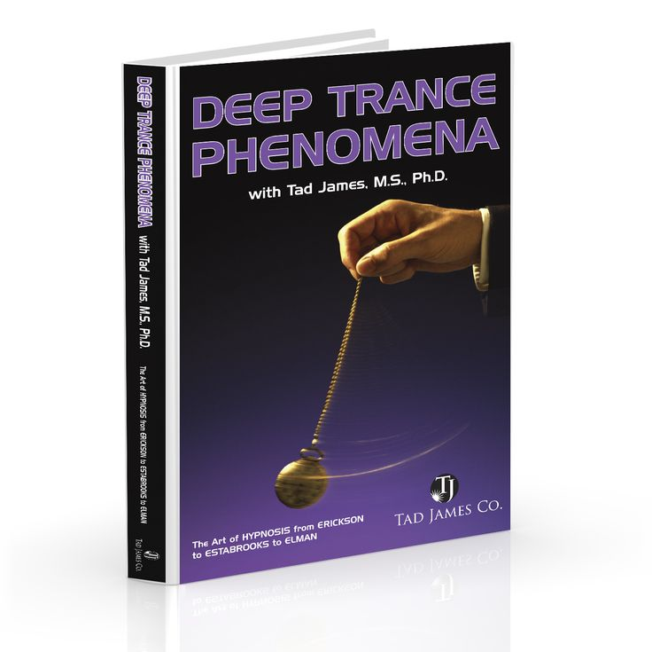 Deep Trance Phenomena CD Set: This is a digital recording of Dr. Tad James at his best in deep hypnosis.